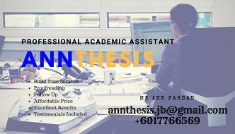 Upah Tulis Thesis / Assignment / Analisis SPSS