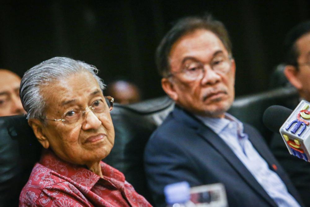 Mahathir dan Anwar